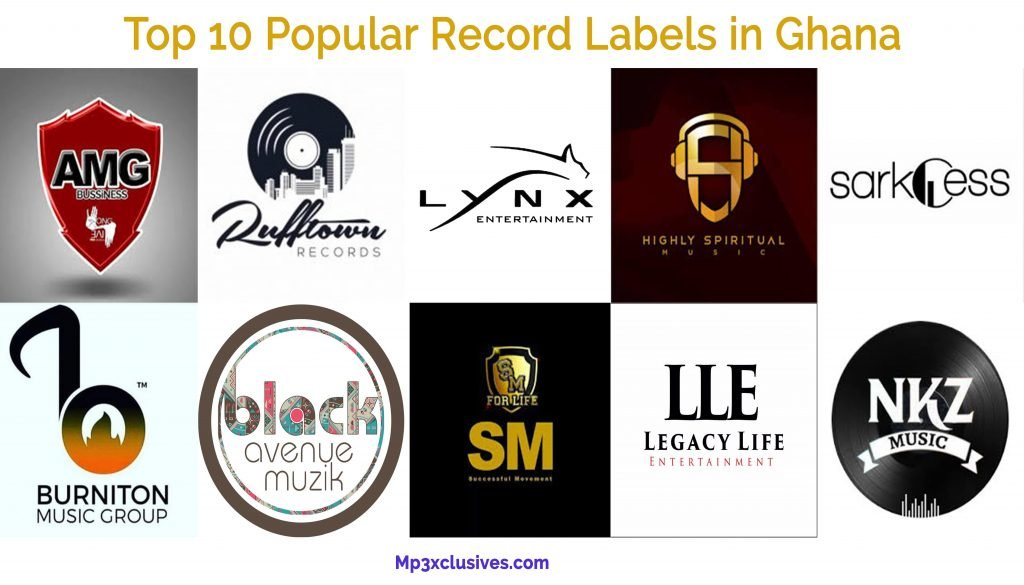 Top 10 Popular Record Labels in Ghana
