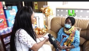 Nana Ama McBrown donates to Grace Nortey on her 43rd birthday
