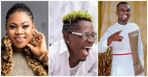Joyce Blessing, Shatta Wale and Joe Mettle