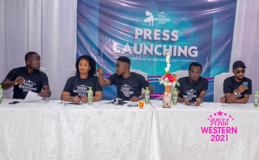 Miss Western 2021 Press Launching 1