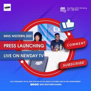 Miss Western 2021 Press Launching